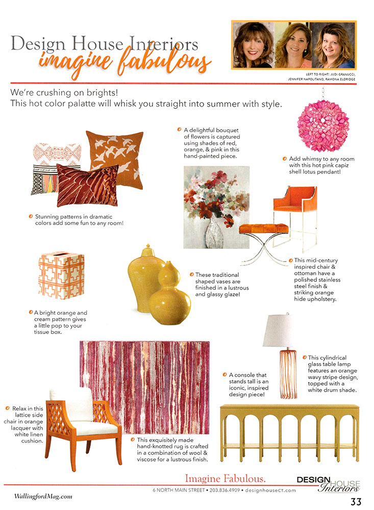 interior design trends - imagine fabulous - graphic